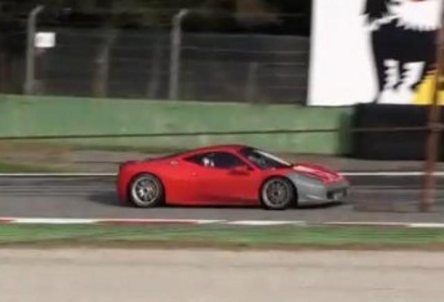 VIDEO: Ferrari 458 Challenge, la Monza