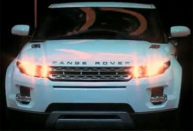 VIDEO: Prezentarea noului Range  Rover Evoque la Paris
