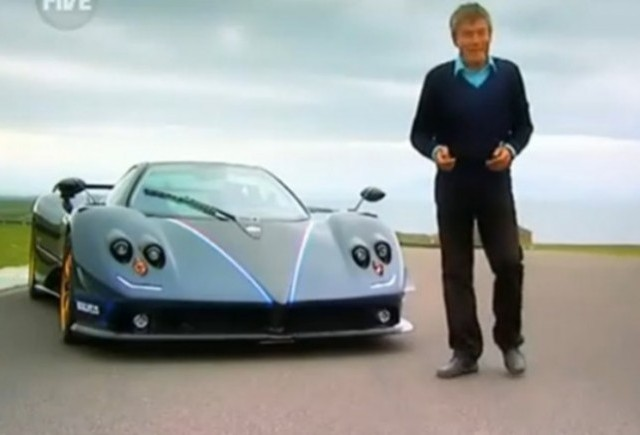 VIDEO: Fifth Gear testeaza puternicul Pagani Zonda R