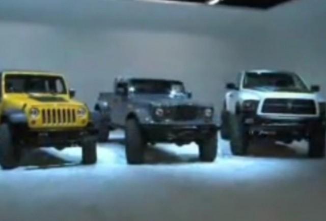VIDEO: Chrysler prezinta SUV-urile realizate pentru SEMA