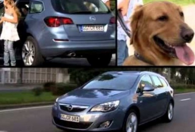 VIDEO: Primul promo Opel Astra Sports Tourer