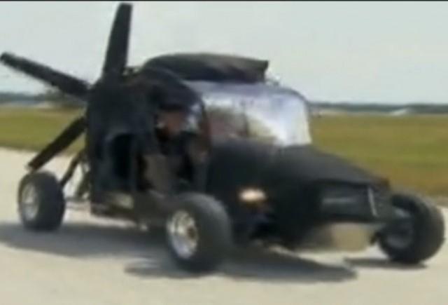 VIDEO: Maverick, o masina zburatoare cu propulsor de Subaru