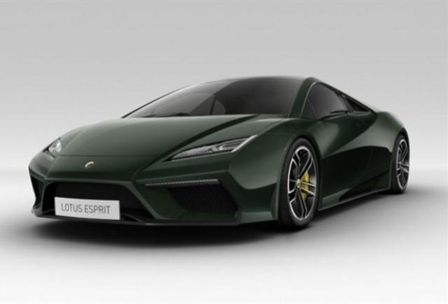 Noul Lotus Esprit va fi primul care intra in productie