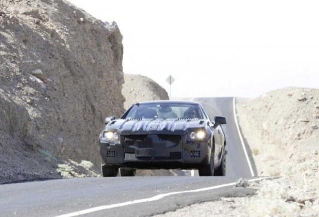 GALERIE FOTO: Imagini spion cu noul Mercedes SLK