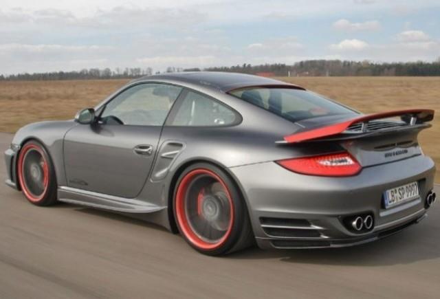 Porsche 911 Turbo tunat de speedArt