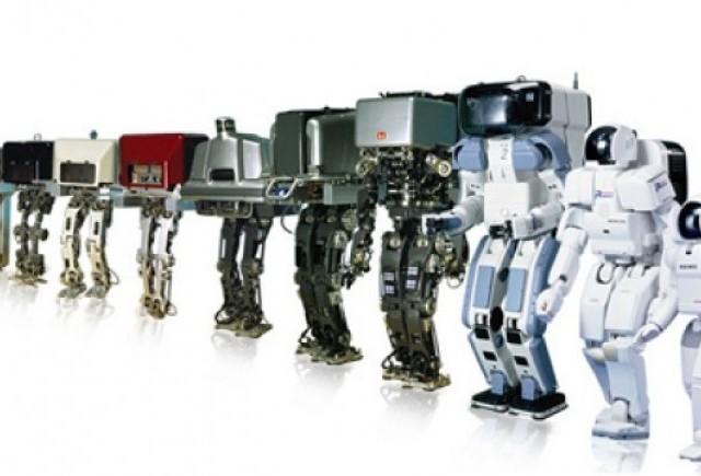 Honda a sarbatorit 10 ani de la nasterea robotului umanoid Asimo