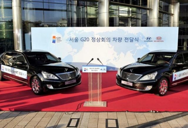 Hyundai, furnizorul flotei de masini a Summitului G20