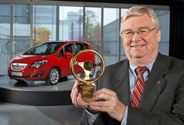 Opel Meriva a castigat Volanul de aur 2010