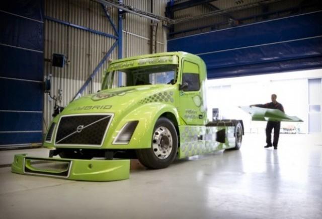 Volvo doreste sa realizeze cel mai rapid camion hibrid