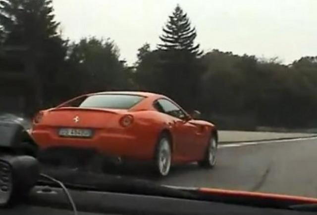 VIDEO: Ferrari F430 Scuderia atinge 270 km/h la Monza