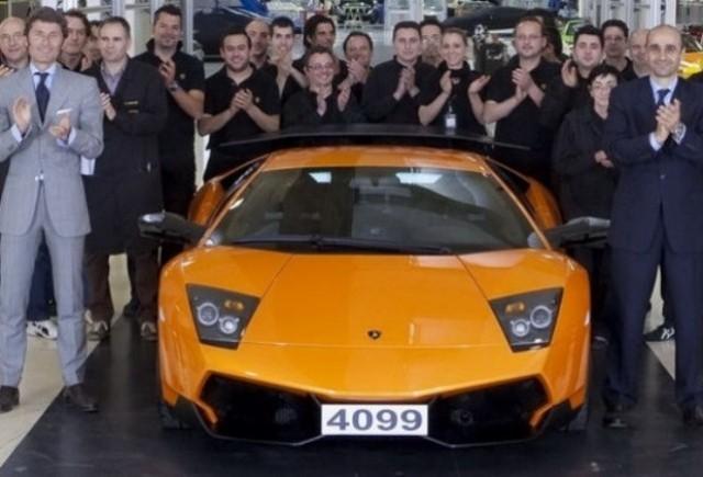 Lamborghini Murcielago a iesit din productie!
