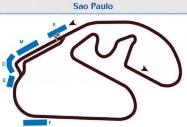 Echipele sustin in continuare Marele Premiu al Braziliei