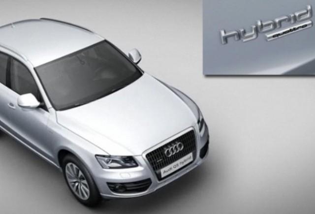 Noul Audi-ul Q5 hibrid prezentat pe site-ul companiei