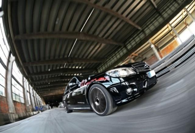 Mercedes C63 AMG tunat de Wimmer RS