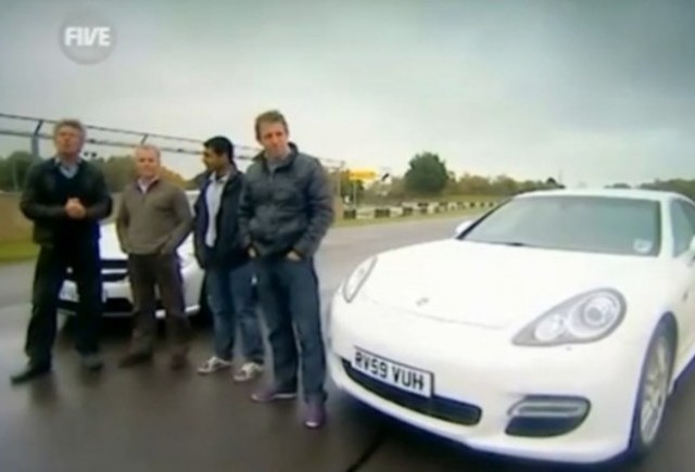 VIDEO: Mercedes CL63 AMG vs Porsche Panamera