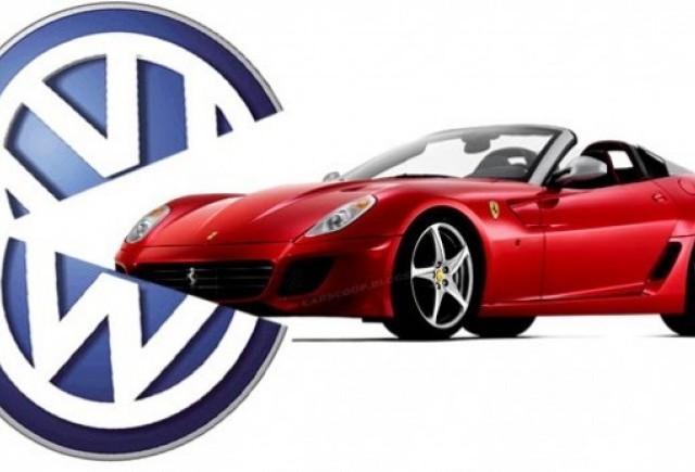 ZVON: Volkswagen isi arata interesul fata de Ferrari