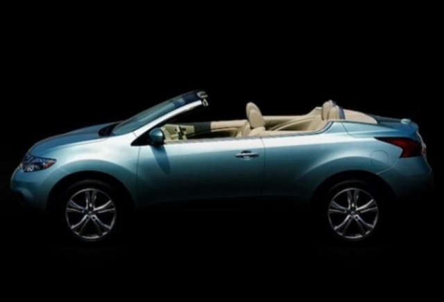 Iata noul Nissan Murano CrossCabriolet!
