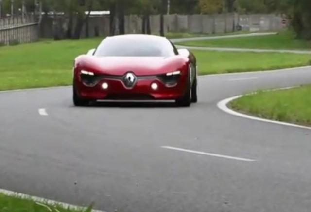 VIDEO: Conceptul Renault DeZir in actiune