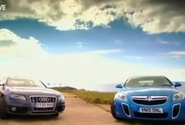 VIDEO: Audi S4 vs Opel Insignia OPC