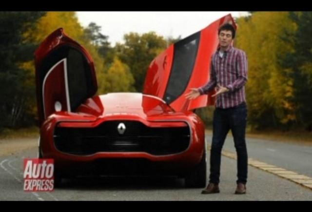VIDEO: Conceptul Renault DeZir testat de AutoExpress
