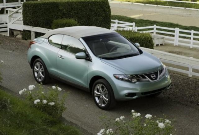 OFICIAL: Noul Nissan Murano CrossCabriolet se prezinta