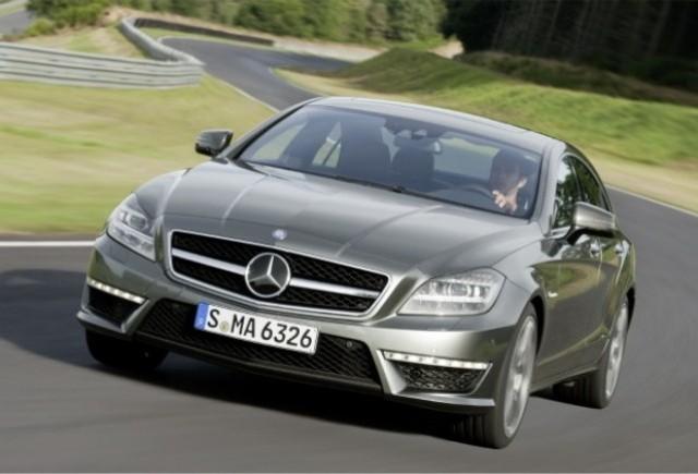 Iata noul Mercedes CLS63 AMG!