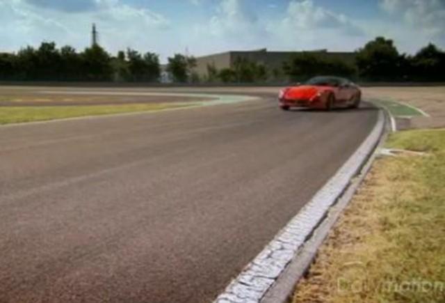VIDEO: Clarkson testeaza puternicul Ferrari 599 GTO