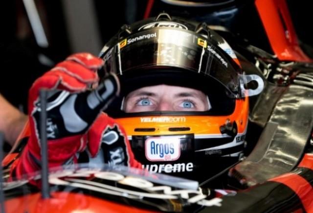Buurman inca spera la un loc in Formula 1