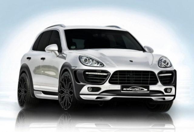 Porsche Cayenne tunat de speedArt