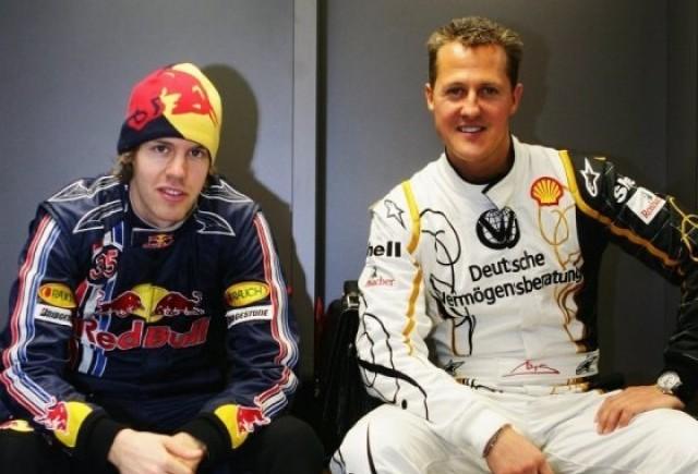 Schumacher lauda talentul lui Vettel