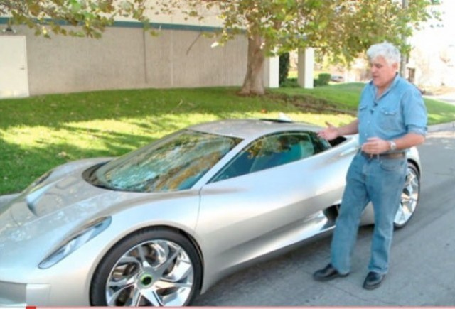 VIDEO: Jay Leno testeaza conceptul Jaguar C-X75