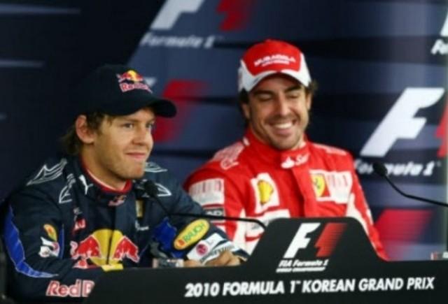 Vettel: Alonso nu m-a felicitat inca personal