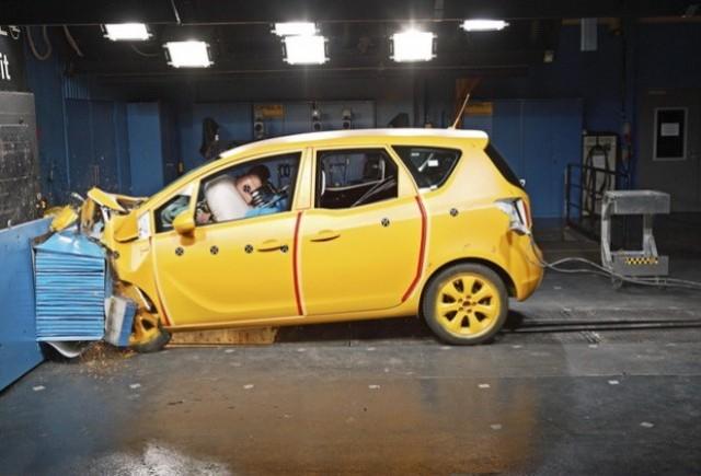 Opel Meriva a obtinut cinci stele  EuroNCAP