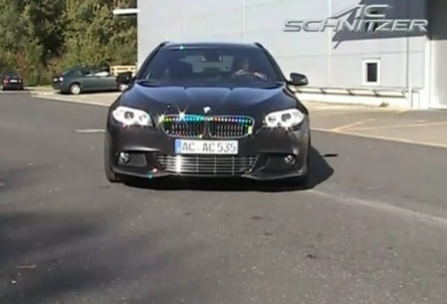 VIDEO: BMW Seria 5 Touring tunat de AC Schnitzer