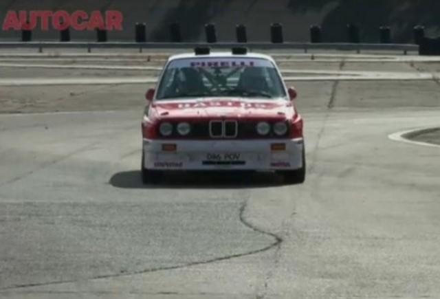 VIDEO: Autocar testeaza puternicul BMW E30 M3 Rally
