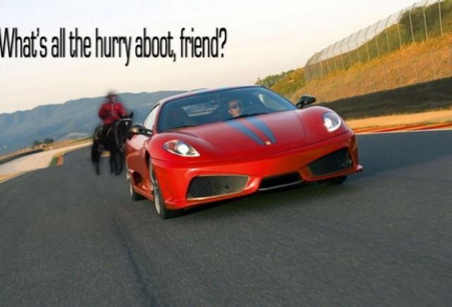 Li s-au confiscat masinile pentru viteza excesiva!