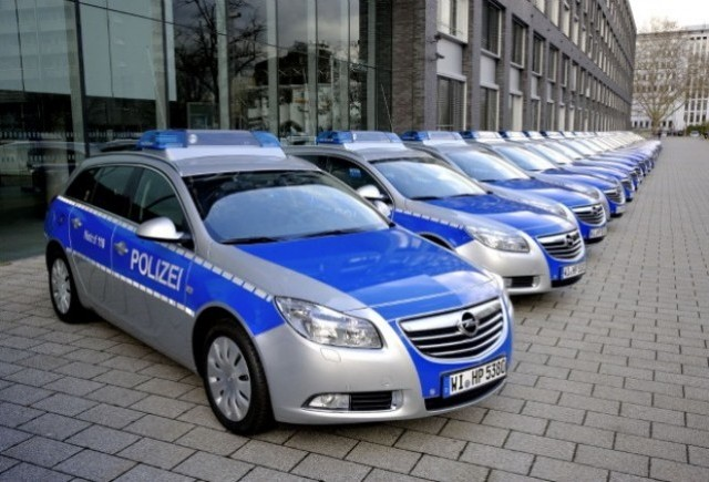 Politia germana a comandat 800 de modele Opel Insignia ST