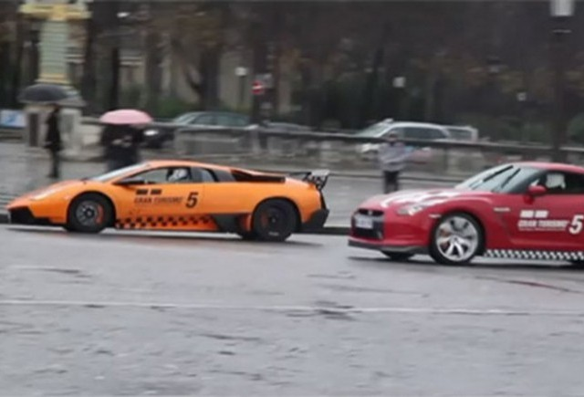 Video: Gran Turismo 5 live-action in Paris