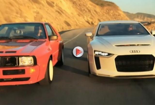 VIDEO: Audi Quattro Concept, urmasul lui Audi Quattro Coupe 1984