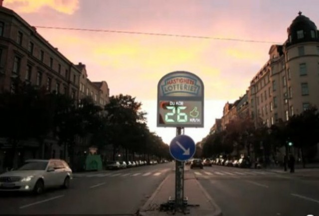 VIDEO: Volkswagen Fun Theory, loteria radarului