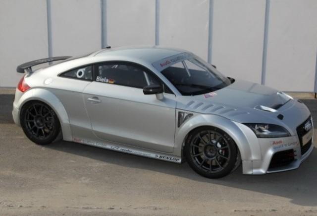 Iata conceptul Audi TT GT4!