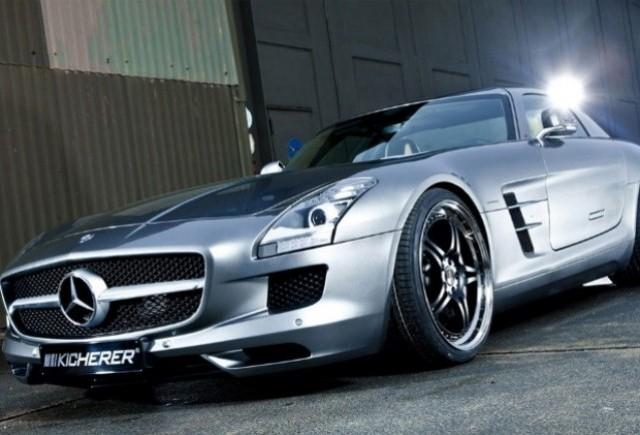 Mercedes SLS AMG tunat de Kicherer