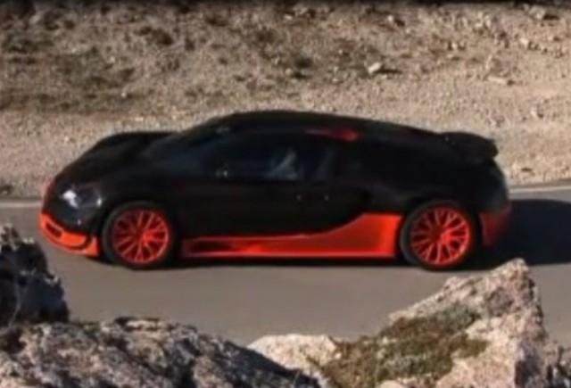 VIDEO: EVO testeaza puternicul Bugatti Veyron Super Sport