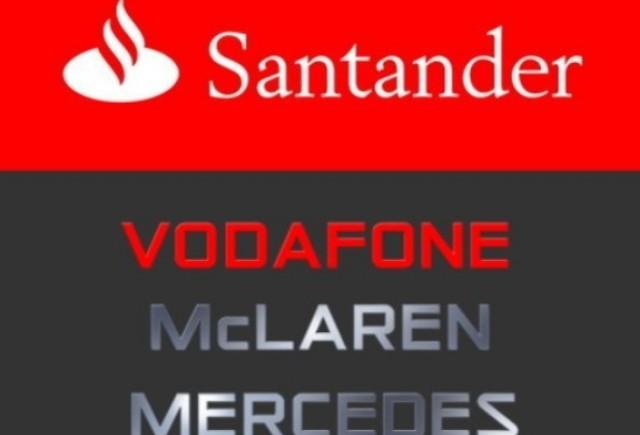 Santander nu va mai fi sponsorul McLaren
