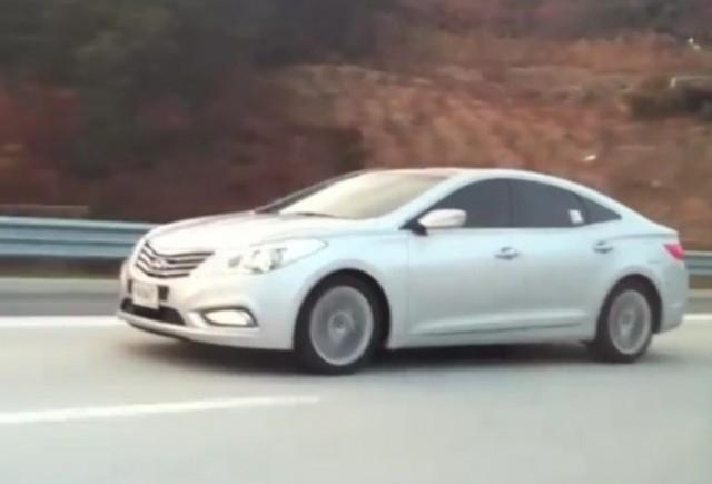 VIDEO: Noul Hyundai Grandeur in actiune