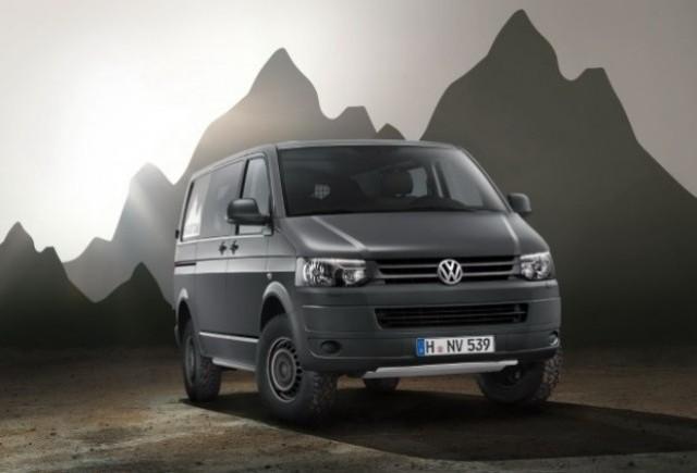 Volkswagen prezinta modelul Transporter Rockton 4Motion