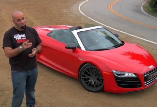 VIDEO: Audi R8 Spyder de 710 CP!