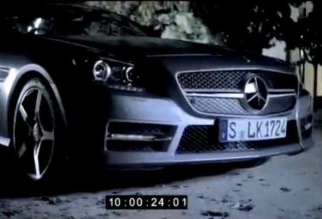 VIDEO: Iata noul Mercedes SLK!