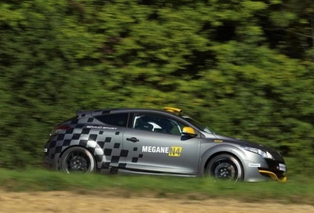 Renault Megane RS N4 se prezinta