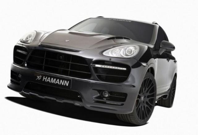 Porsche Cayenne tunat de Hamann